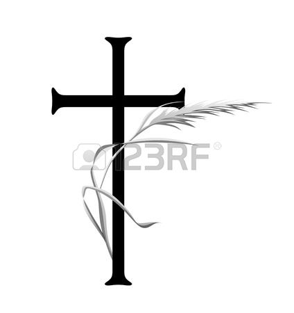 424x450 Funeral Clipart Simple Cross