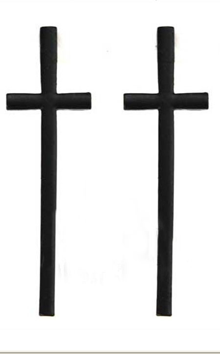 450x723 Simple Black Cross