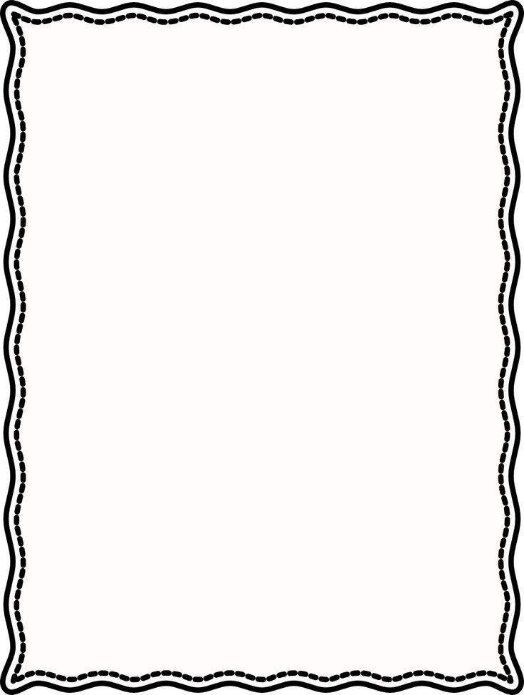 Simple Line Art Borders : Simple border clipart free download best