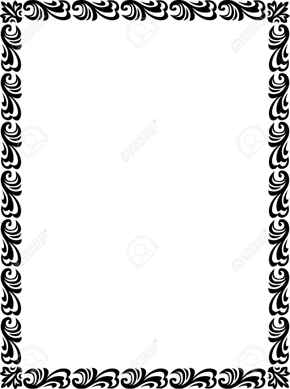 Simple Border Designs For School Projects To Draw | Free ...