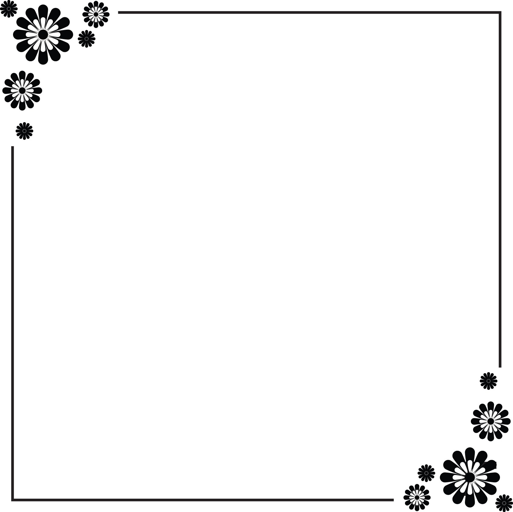Simple Border Designs For School Projects To Draw Free Download
