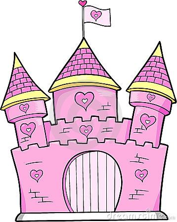 Simple Castle Clipart