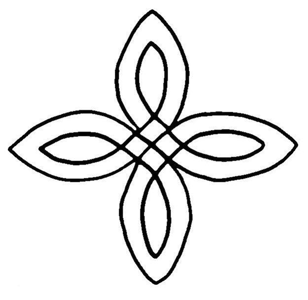 Simple Celtic Cross