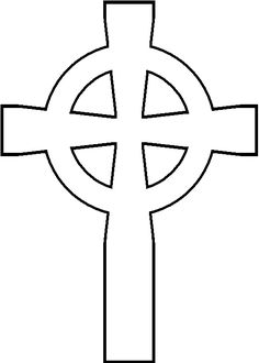 236x330 Celtic Cross Pattern. Use The Printable Outline For Crafts