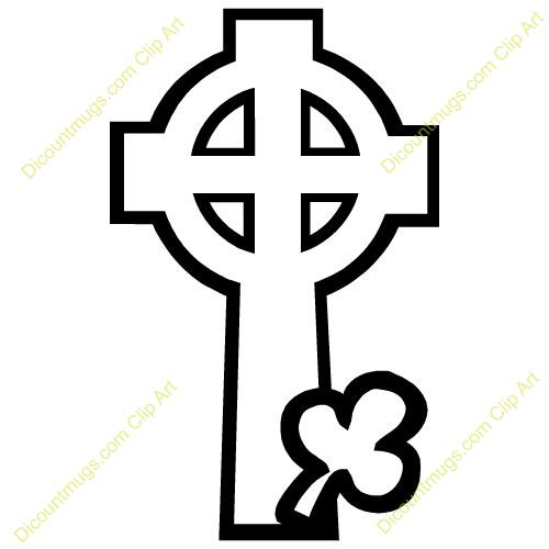 500x500 Irish Clipart Celtic Cross