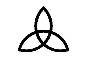300x285 Simple Celtic Cross Clip Art Free Clipart Images 6 Image