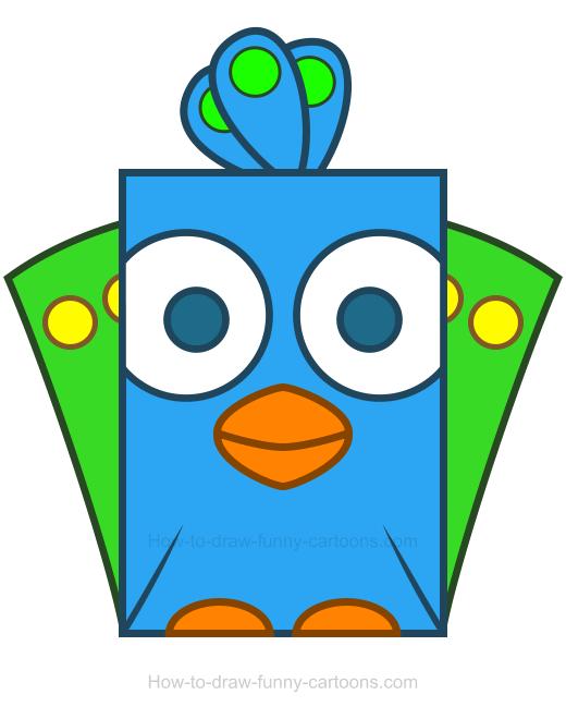 520x660 Peacock Clipart