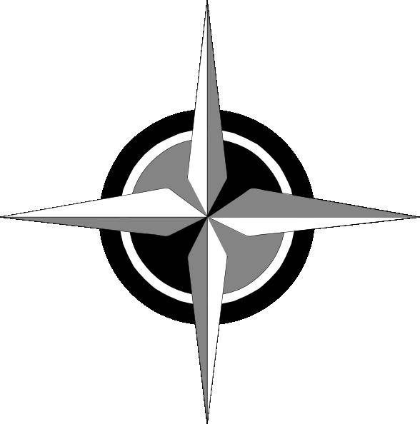 588x594 Compass Rose Clip Art