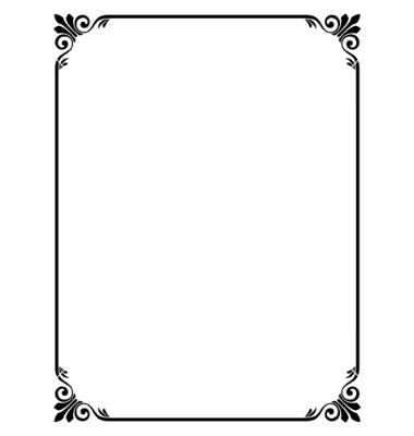 Simple Corner Borders | Free download on ClipArtMag