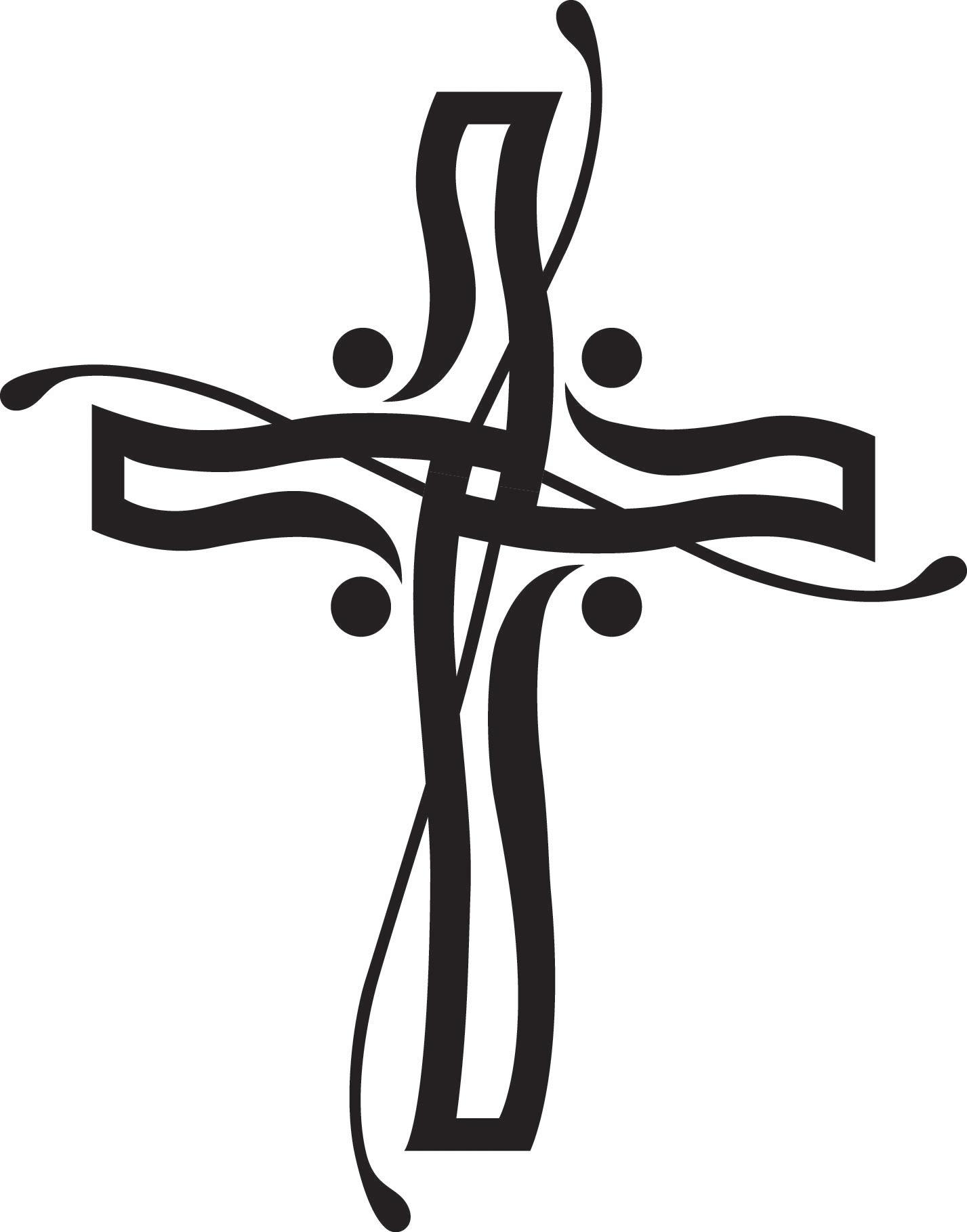 1427x1819 Death Clipart Simple Cross