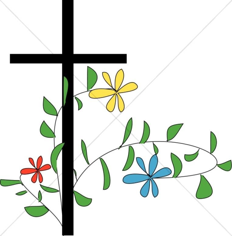 763x776 Flowery Cross Clipart Cross Clipart