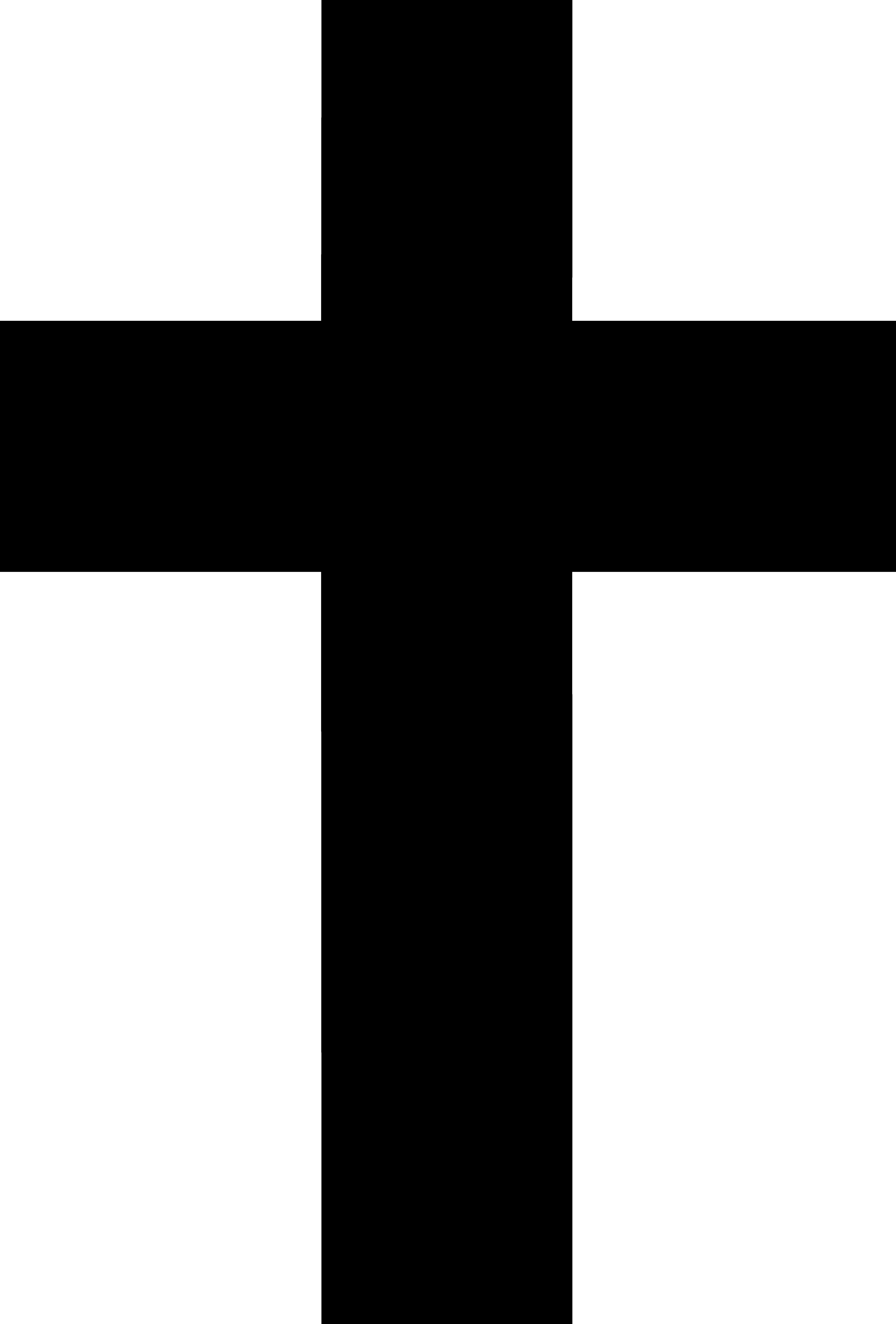 5720x8448 Black Cross Silhouette Design