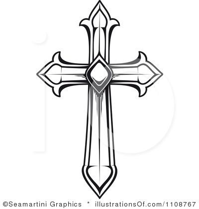 400x420 Free Cross Clip Art