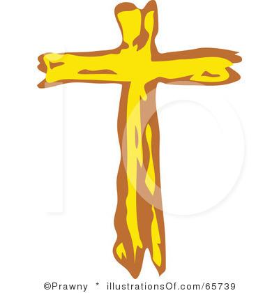 400x420 Simple Christian Cross Clipart