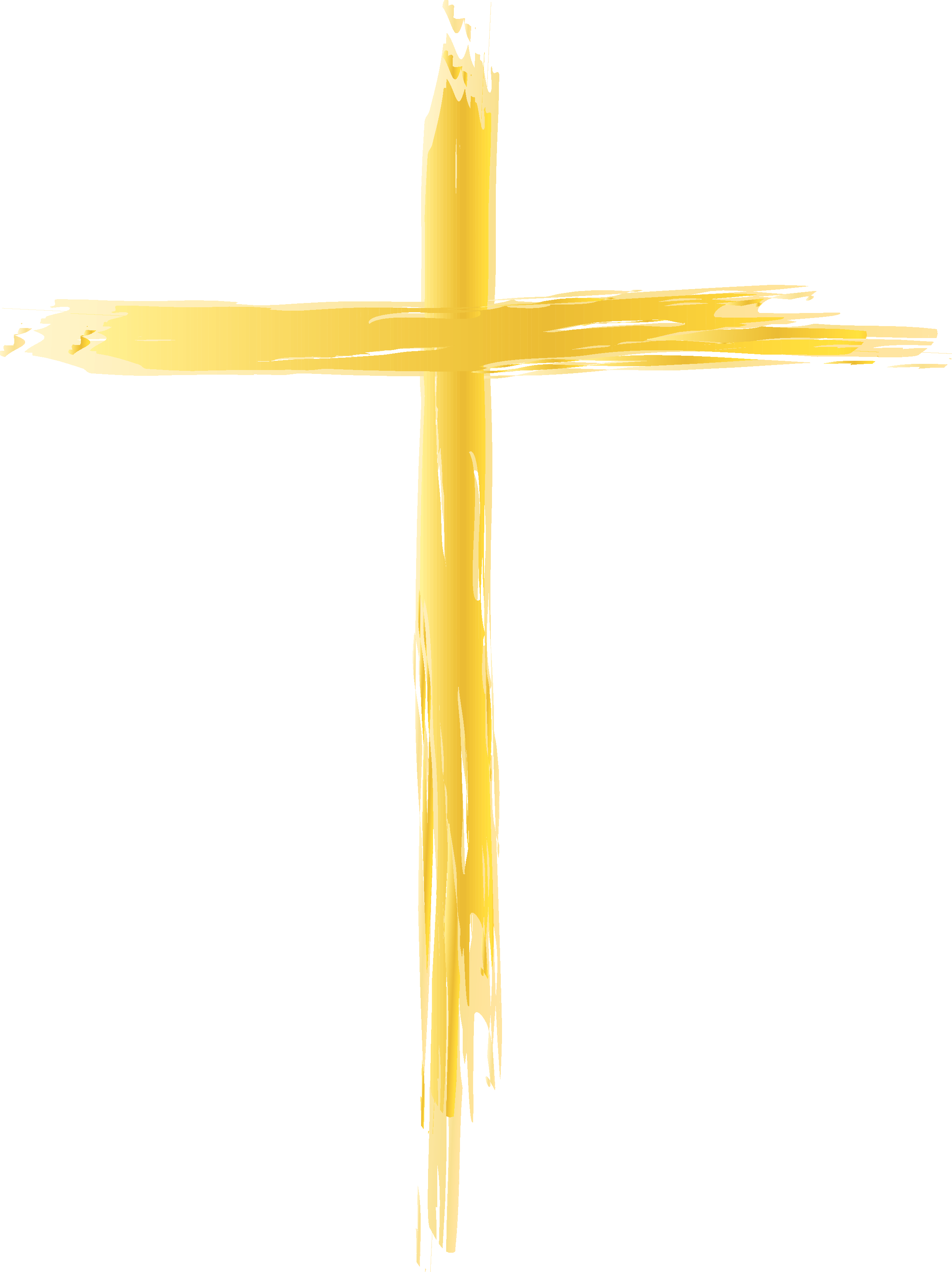 2471x3300 Simple Cross Clipart