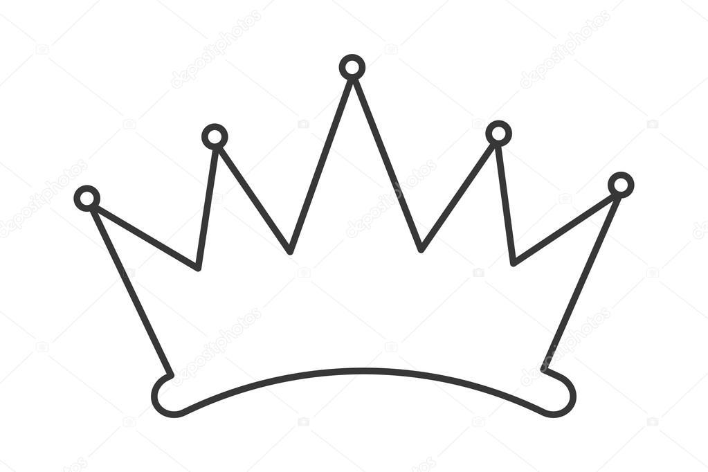1023x682 Simple Crown Silhouette Stock Vector Jemastock
