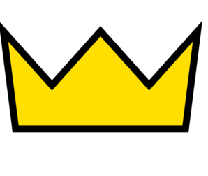 298x252 Crown Clipart Yellow