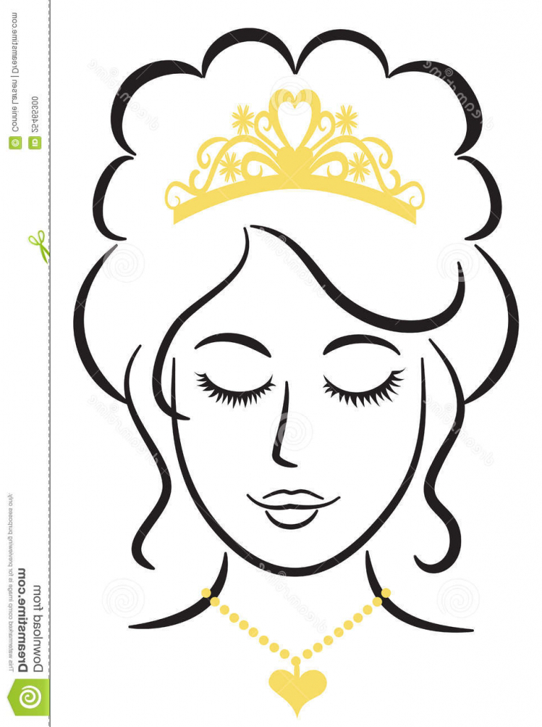 764x1024 Simple Princess Drawing Simple Crown Drawing Clipart Best