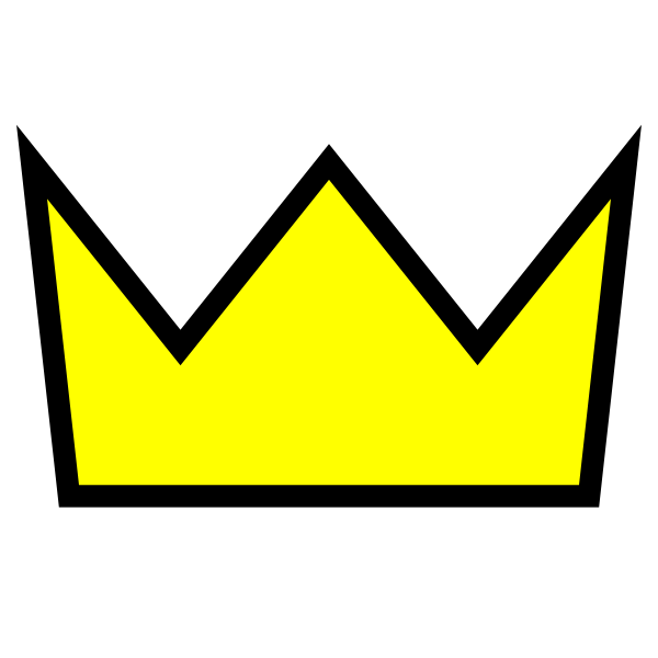 600x600 Clothing King Crown Icon Clip Art