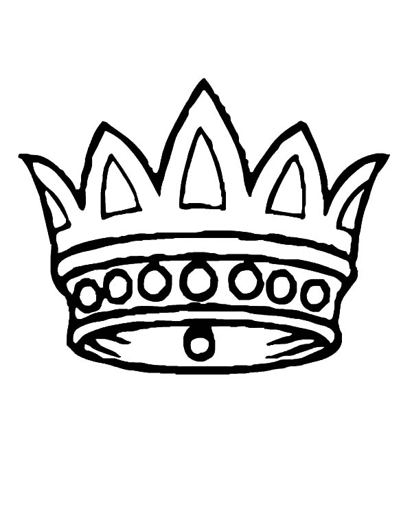 Simple Crown Drawing | Free download best Simple Crown ...