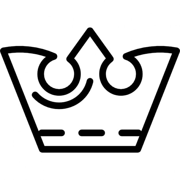 626x626 Crown Outline Vectors, Photos And Psd Files Free Download