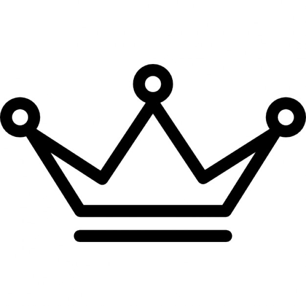 626x626 Graphics For Crown Outline Graphics