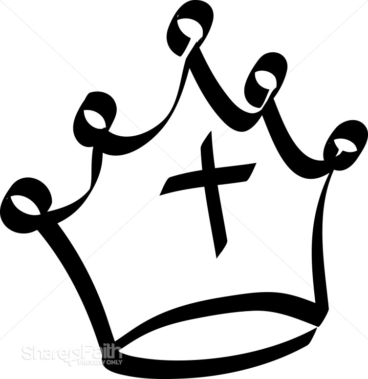 753x776 Outline Of Fancy Crown Crown Clipart