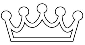 296x159 Crown Clip Art Outline