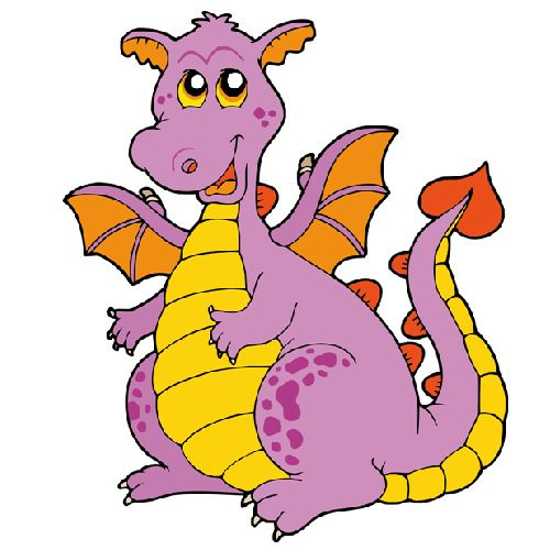 Simple Dragon Clipart