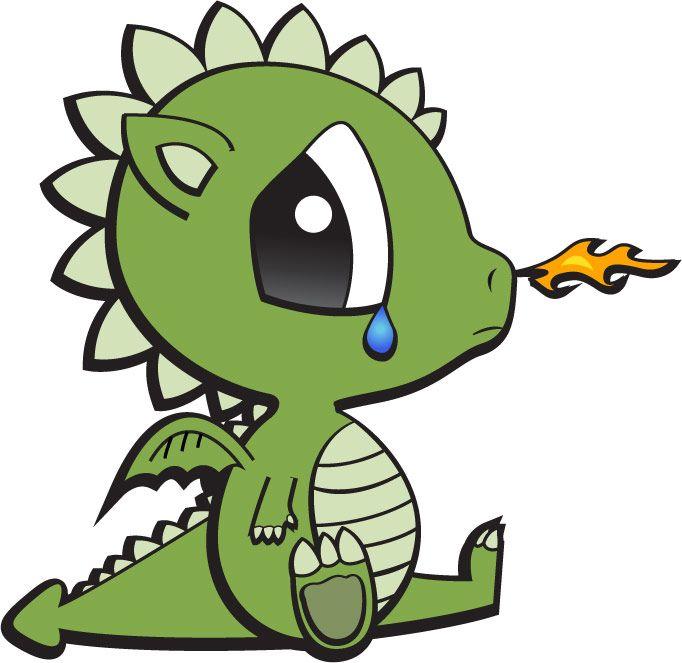 682x663 Dragon Clipart Easy