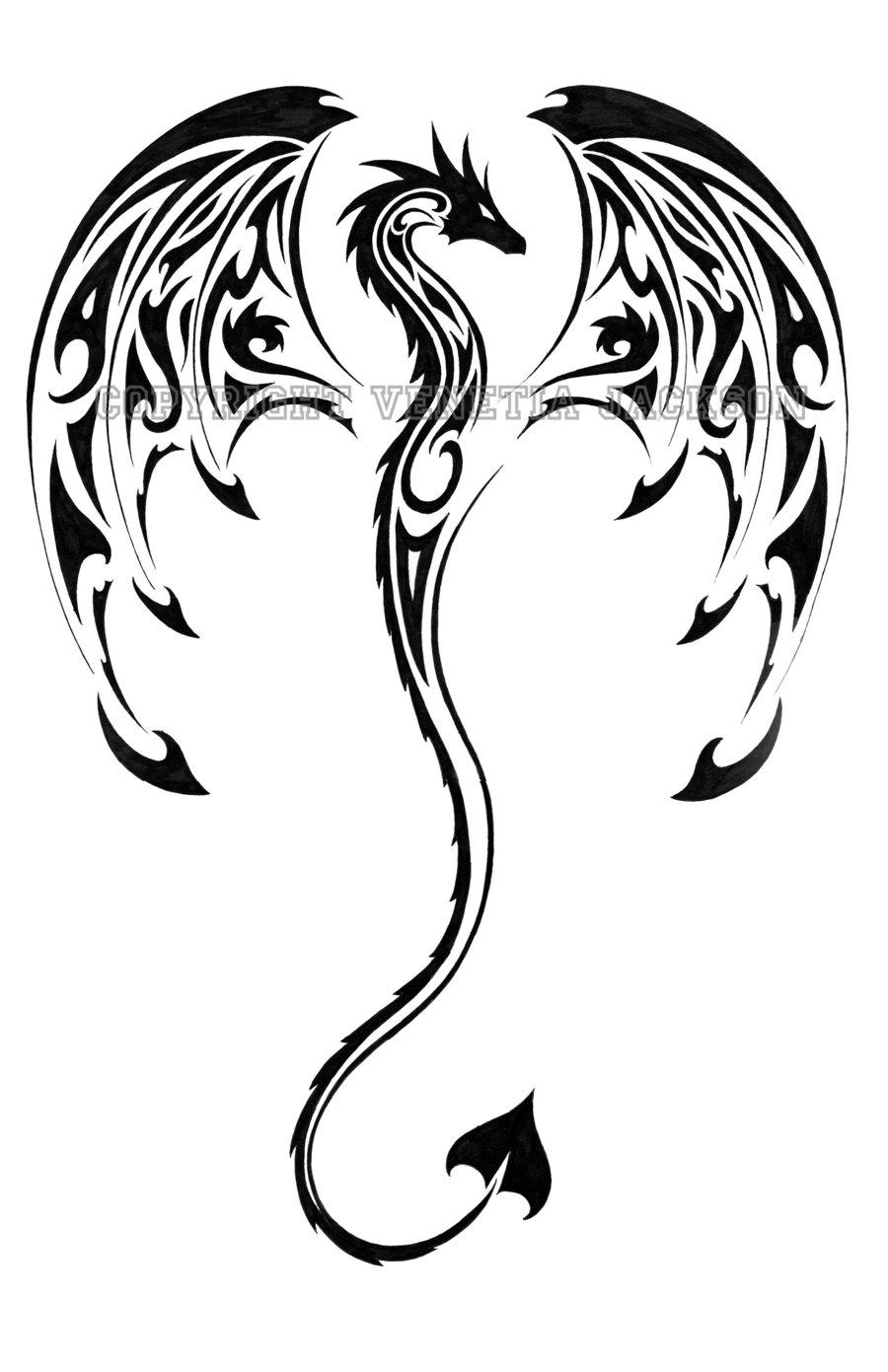 900x1391 Latest Dragon Tattoo Designs