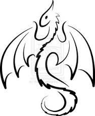 188x230 Image Result For Simple Dragon Tattoo Girl