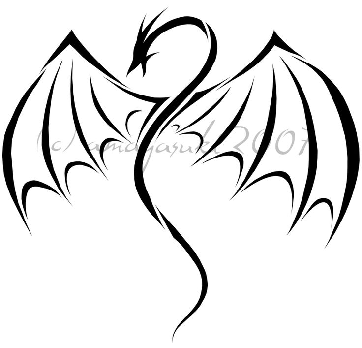 736x707 The Best Simple Dragon Drawing Ideas Dragon