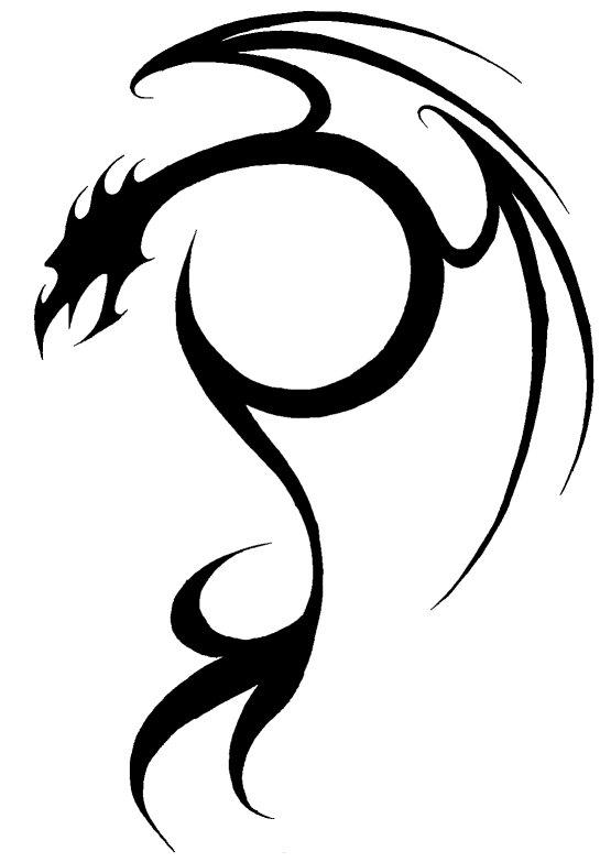 555x783 Dragon Tattoo No. 2 By Milo Wildcat