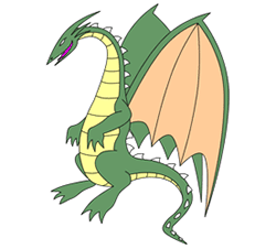 250x226 How To Draw Simple Dragon Drawings