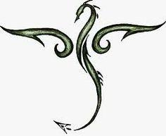 236x193 Small Simple Dragon Tattoos Black Dragons, Tattoo Ideas, Tattoo