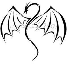 236x226 Dragon Logo Book Dragon Simple Dragon Drawings Tattoo Dragon