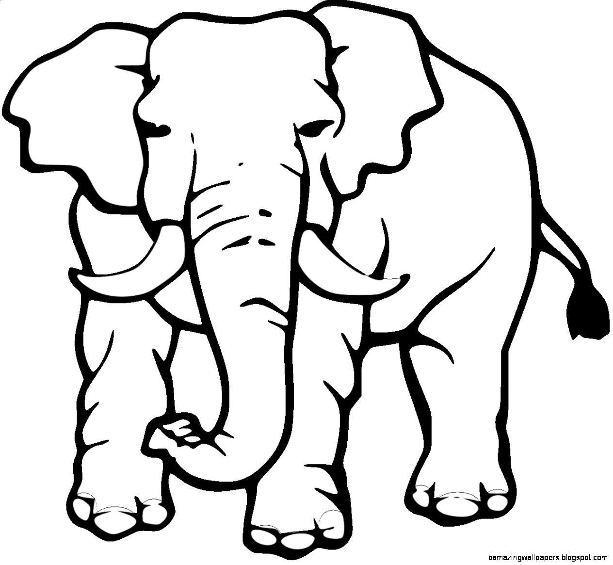 1264x1165 Plain Elephant Cliparts Many Interesting Cliparts