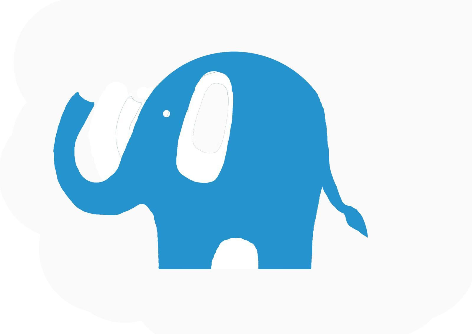 1600x1131 Simple Clipart Elephant
