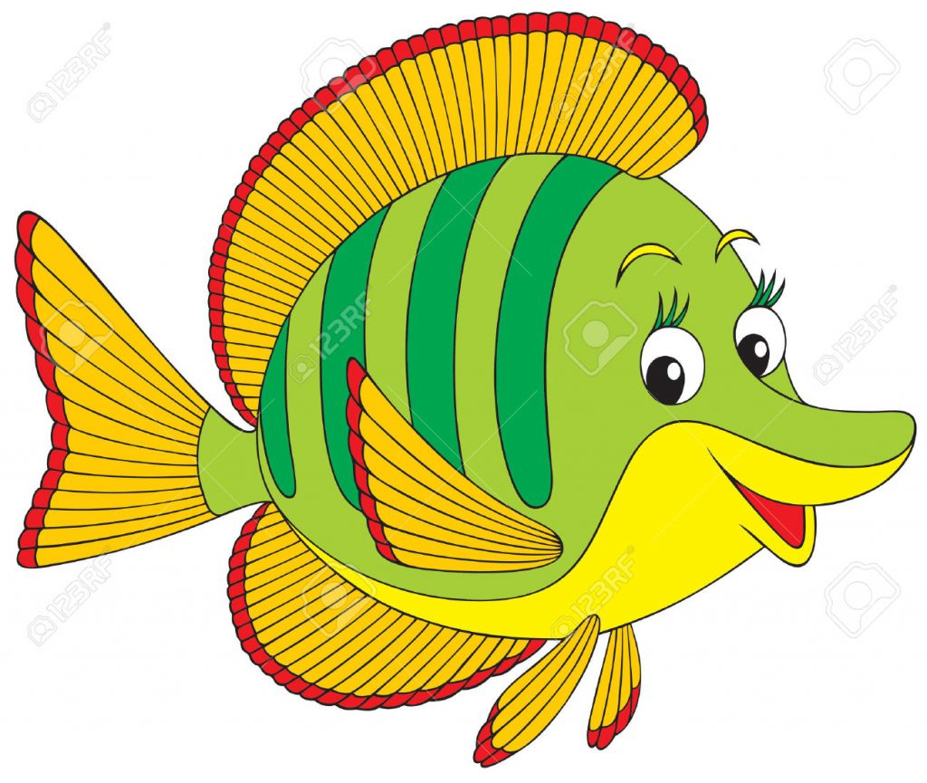 Simple Fish Clipart