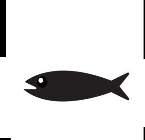 299x288 Simple Fish Clip Art