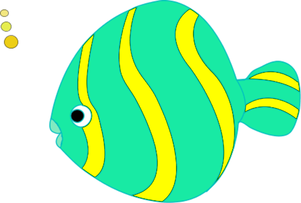 600x405 Transparent Fish Clipart
