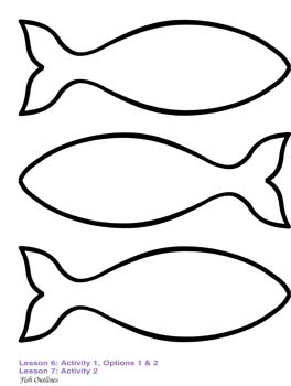 264x350 Fish Outline