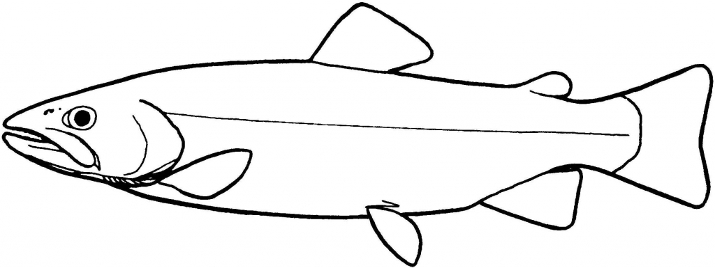 1024x385 Simple Fish Drawing Best Photos Of Simple Fish Pattern Fish Cut