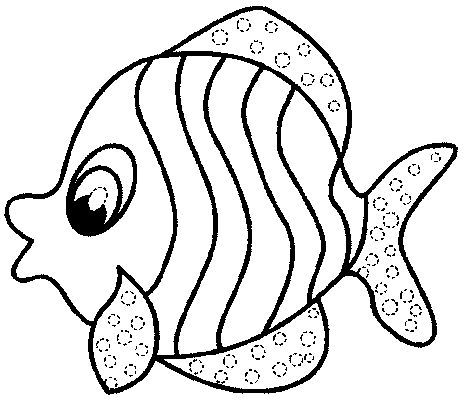 Simple Fish Outline