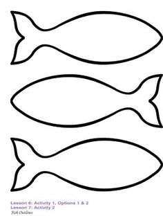 236x312 Fish Outline Clipart