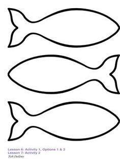 236x312 Fish Outline Clipart