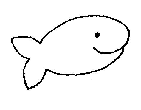 473x369 Fish Outline Fish Black And White Clipart