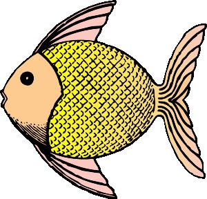 300x288 Simple Fish Outline Clip Art Clipart Panda