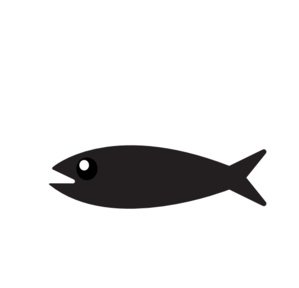 299x288 Simple Fish Outline Clipart